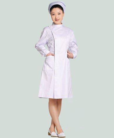 护士服长袖白色