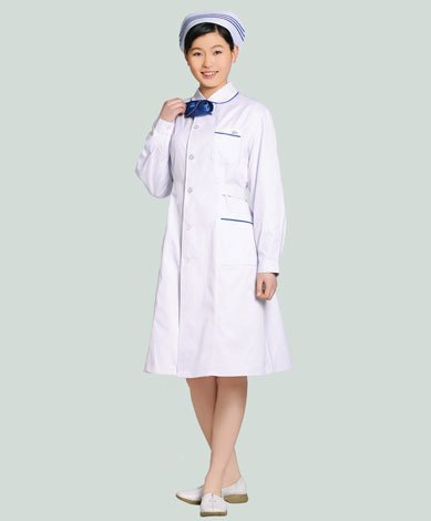 护士服装服款式图